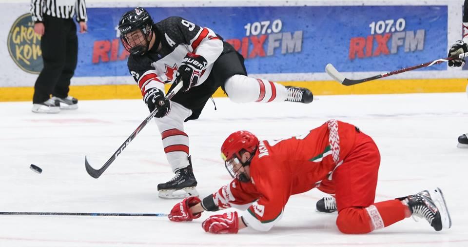 Nathan Légaré et le Canada en quart de finale