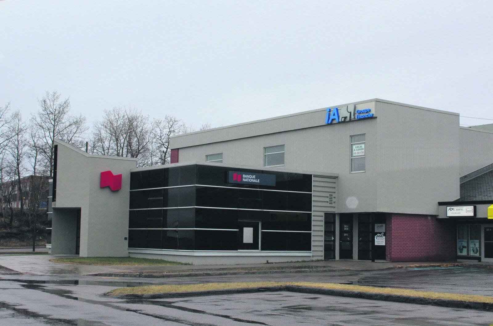À compter de la fin octobre – La Banque Nationale regroupera ses services à Baie-Comeau