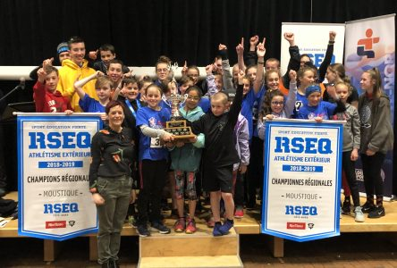 L'école Leventoux et la polyvalente des Baies s'illustrent en athlétisme