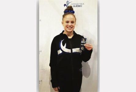 La gymnaste Maude Girard termine sa carrière sur une belle note