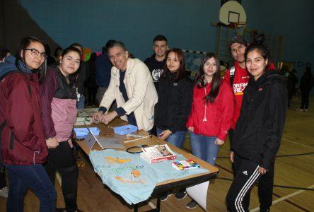Des étudiants en santé courtisent les jeunes de Pessamit
