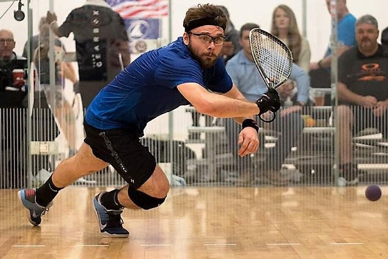 Racquetball : Samuel Murray remporte son premier tournoi Grand Chelem