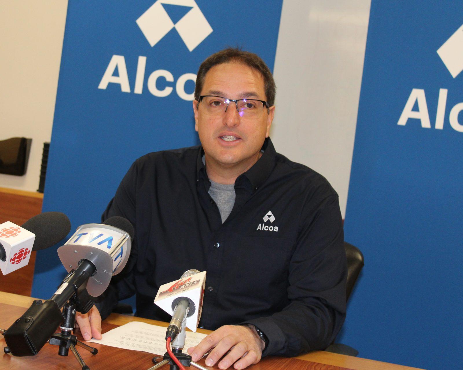 « Une bonne nouvelle pour Alcoa, pour nos gens et pour la communauté » – Éric Lavoie