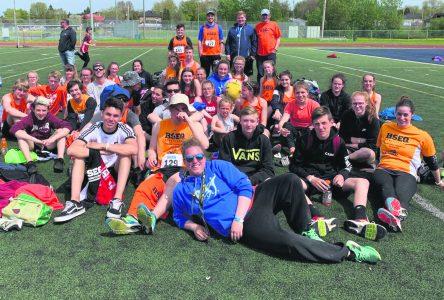 La Côte-Nord brille au Championnat provincial d'athlétisme