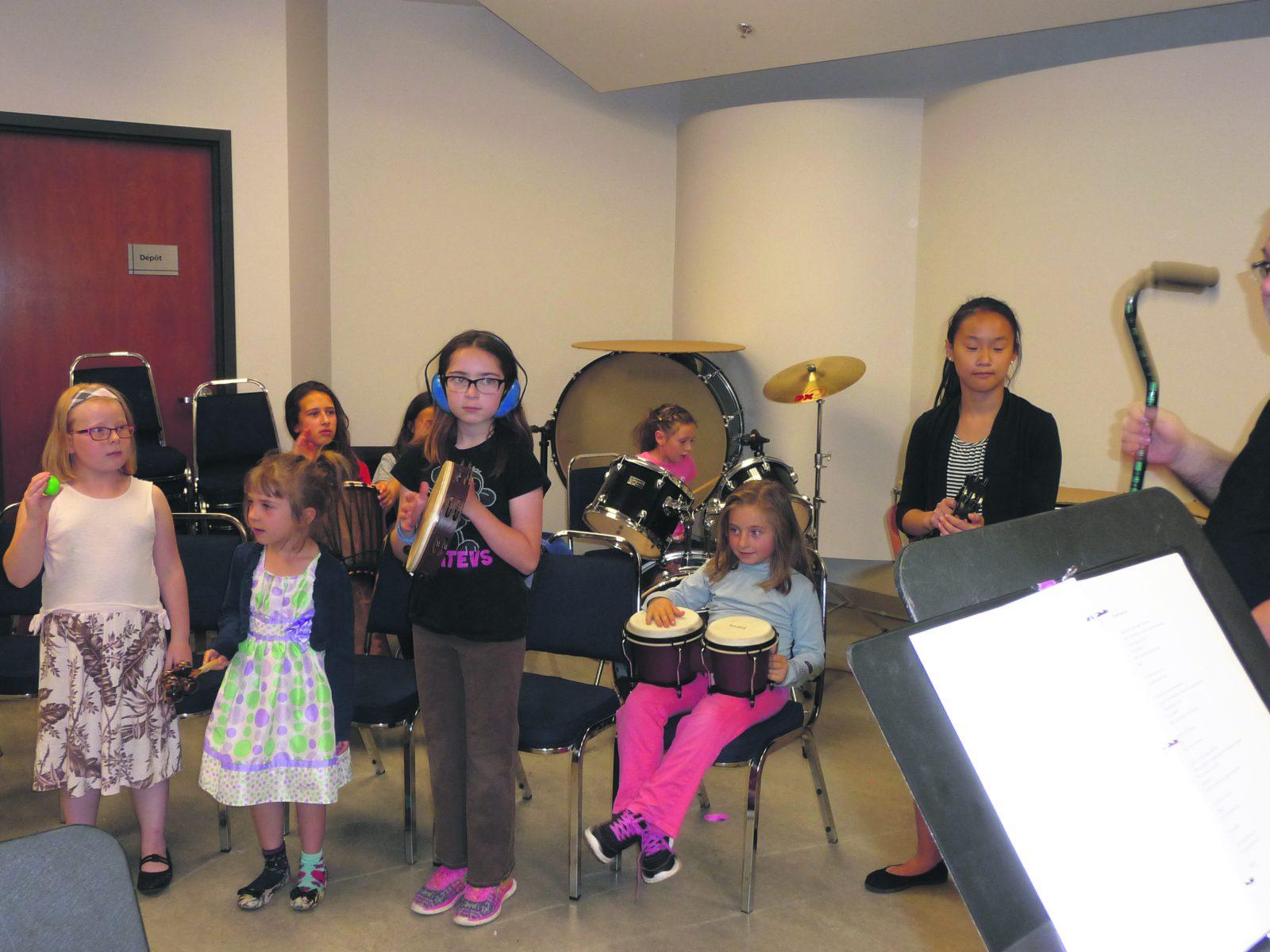 L'École de musique de retour avec son camp estival
