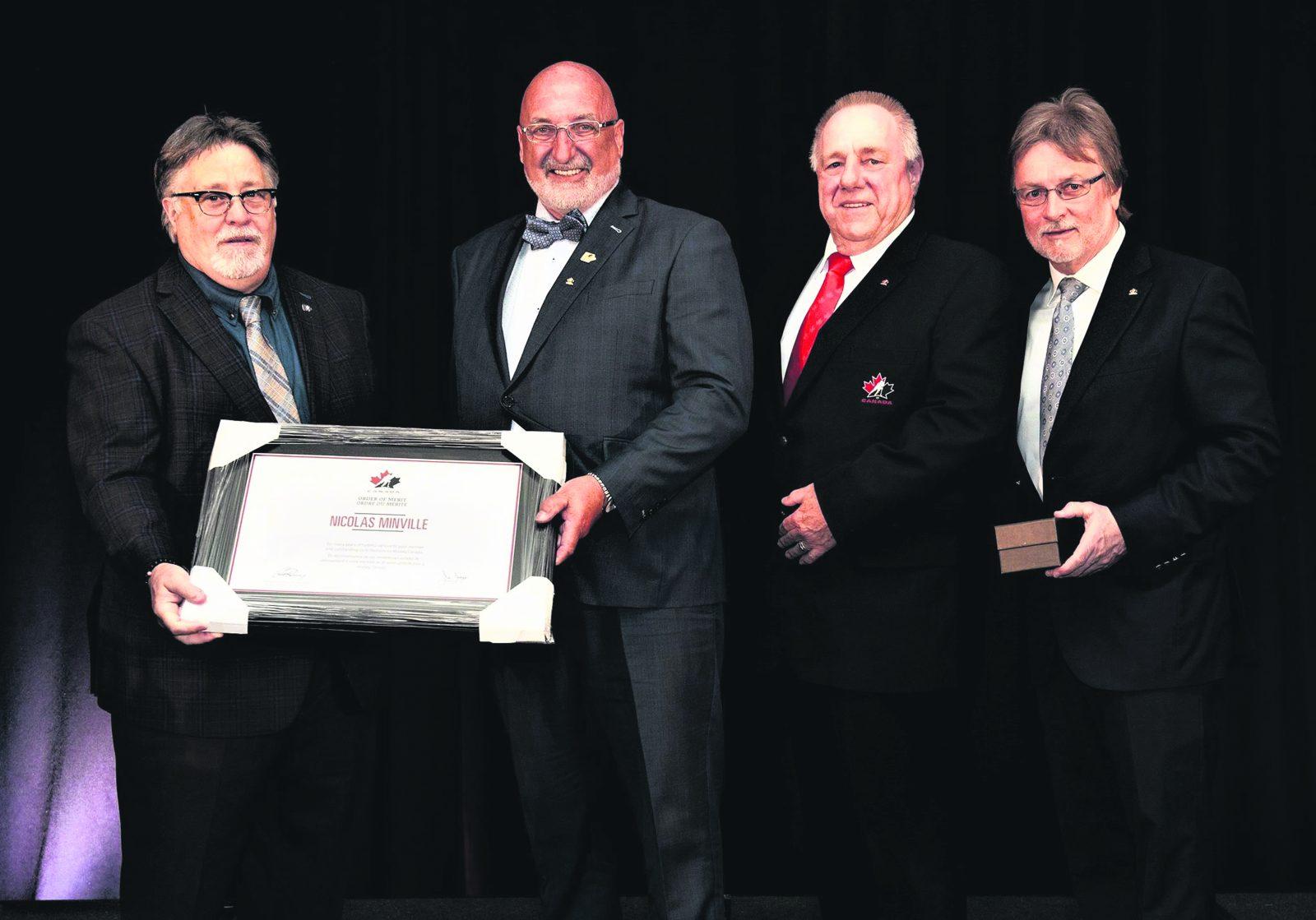Hockey Canada rend hommage à Nicolas Minville