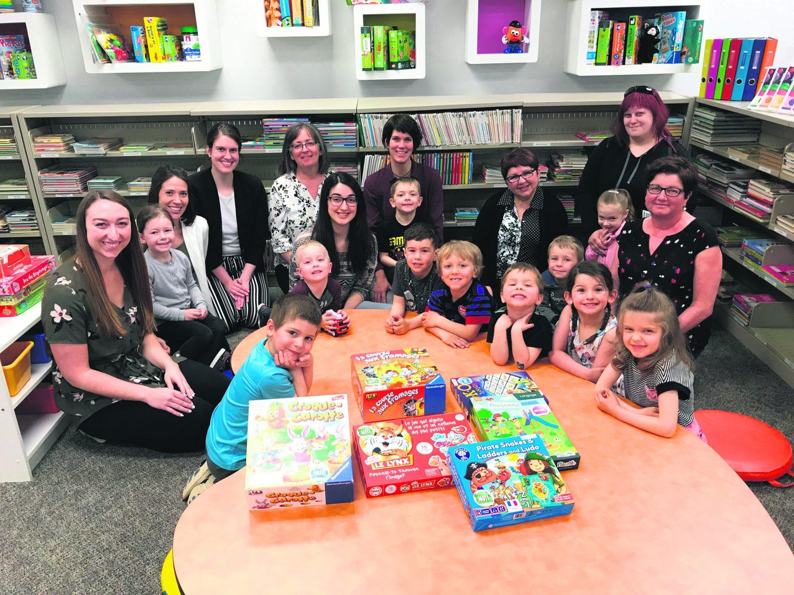 La bibliothèque municipale propose Biblio-Jeux