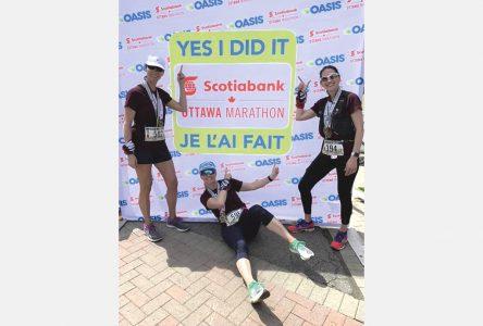 Fin de semaine des courses Tamarack – Cindy Miller relève le Défi du voyageur à Ottawa