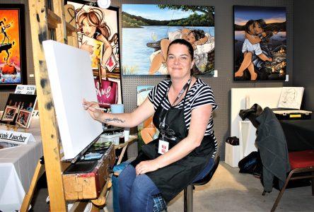 Le Symposium vu par une artiste