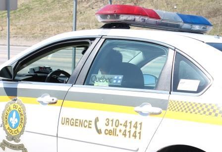 Accident de la route mortel à Godbout