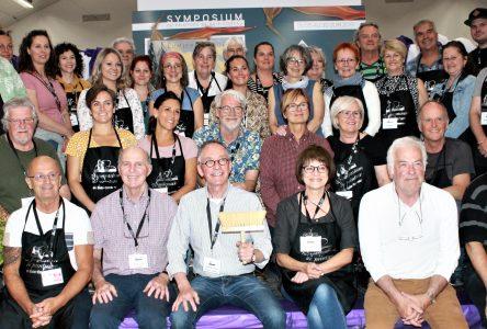 Coup d'envoi du 33e Symposium de peinture de Baie-Comeau