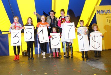 Le Relais pour la vie prend fin avec une incroyable récolte de 351 571 $