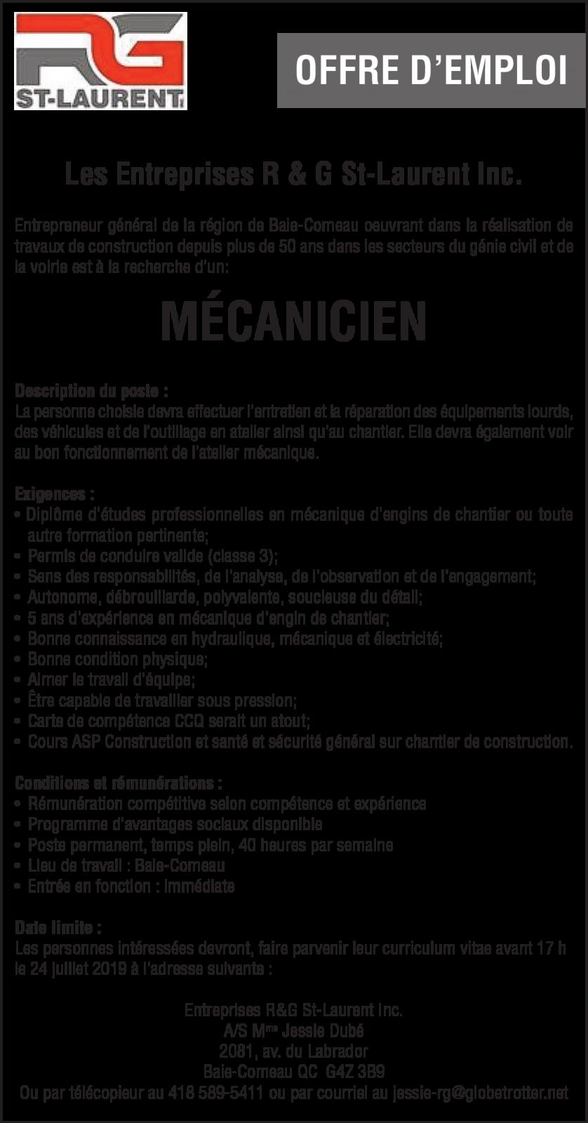 Mécanicien