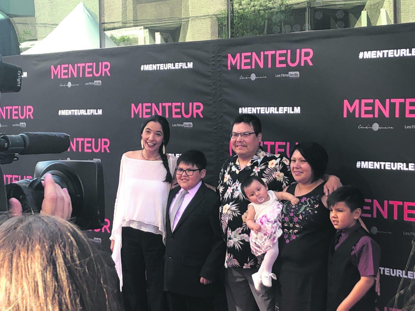 Le court-métrage d'un Innu de 10 ans diffusé en première partie du film <i>Menteur</i>