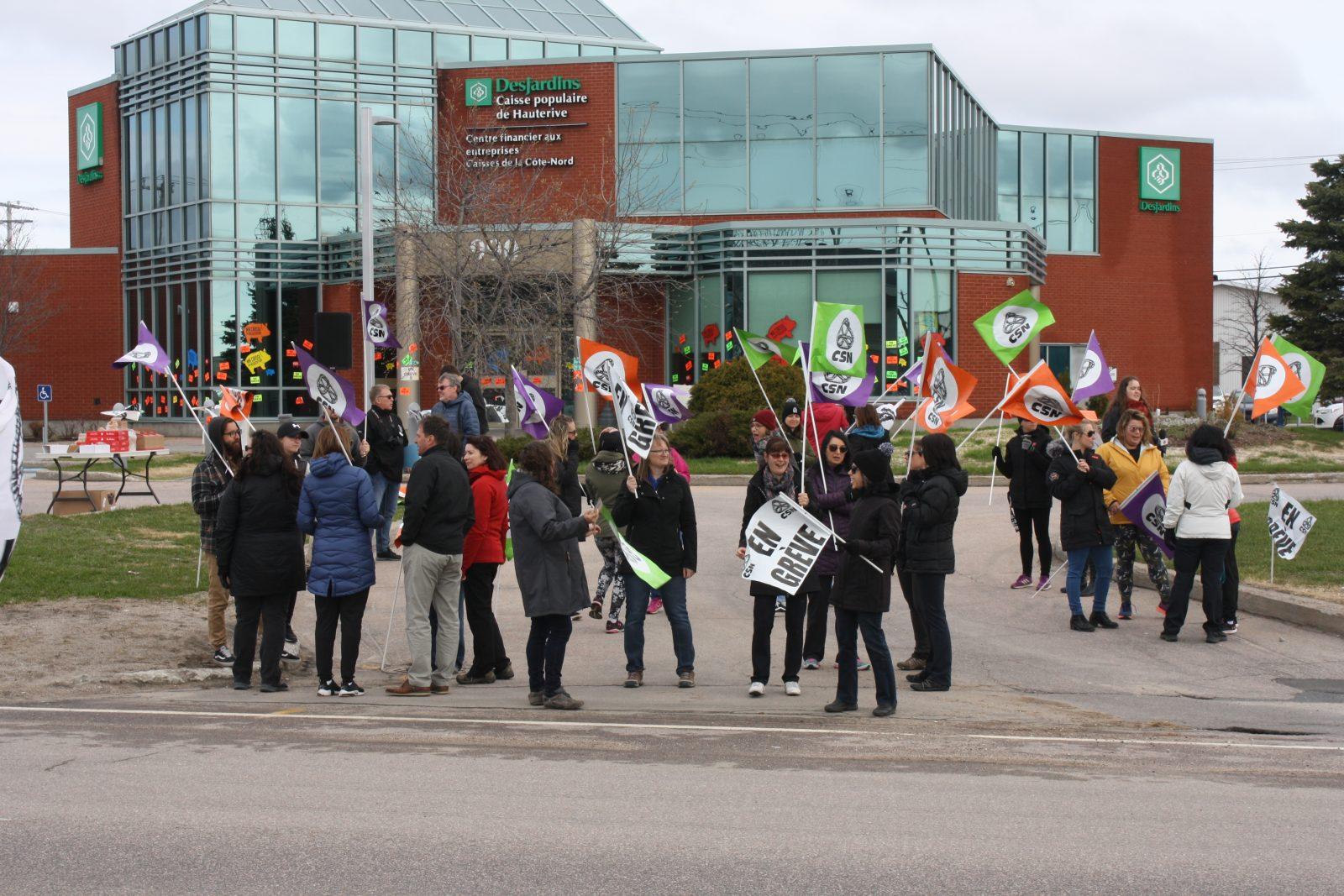 La grève est finie à la Caisse de Hauterive