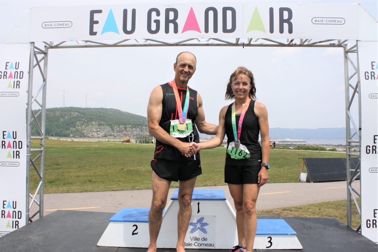 Marathon Desjardins: Tremblay et Ouellet conservent leur couronne