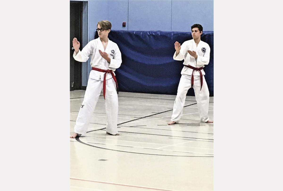 Taekwon-do : Jeffrey et Ilan obtiennent leur ceinture noire
