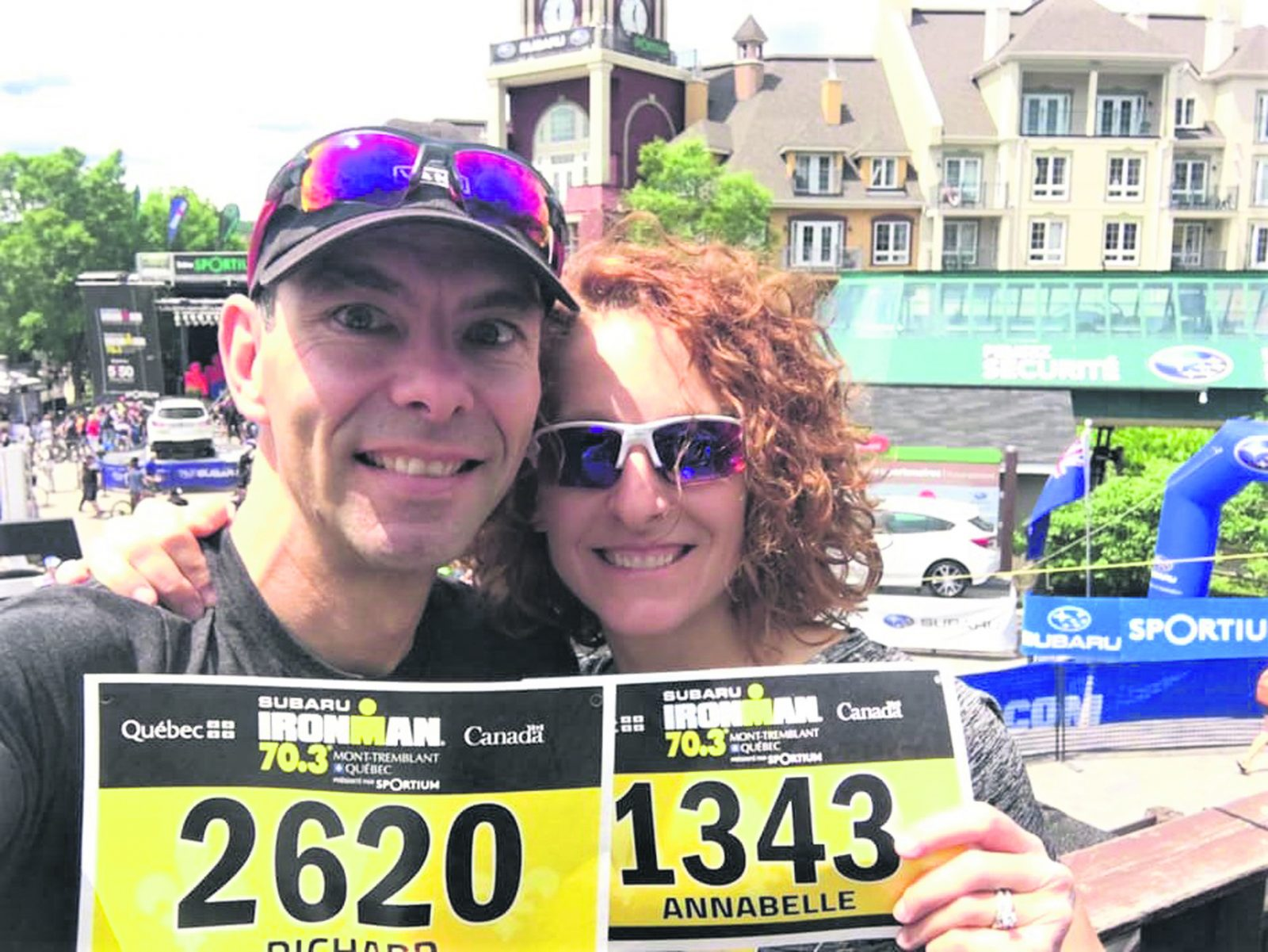 IRONMAN 70,3 : jamais deux sans trois pour le couple Lemay-Bérubé