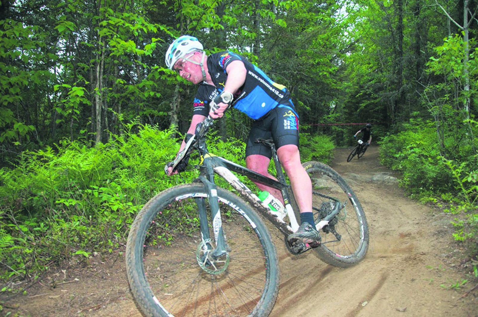 Vélo de montagne : Marc Plante se faufile de justesse