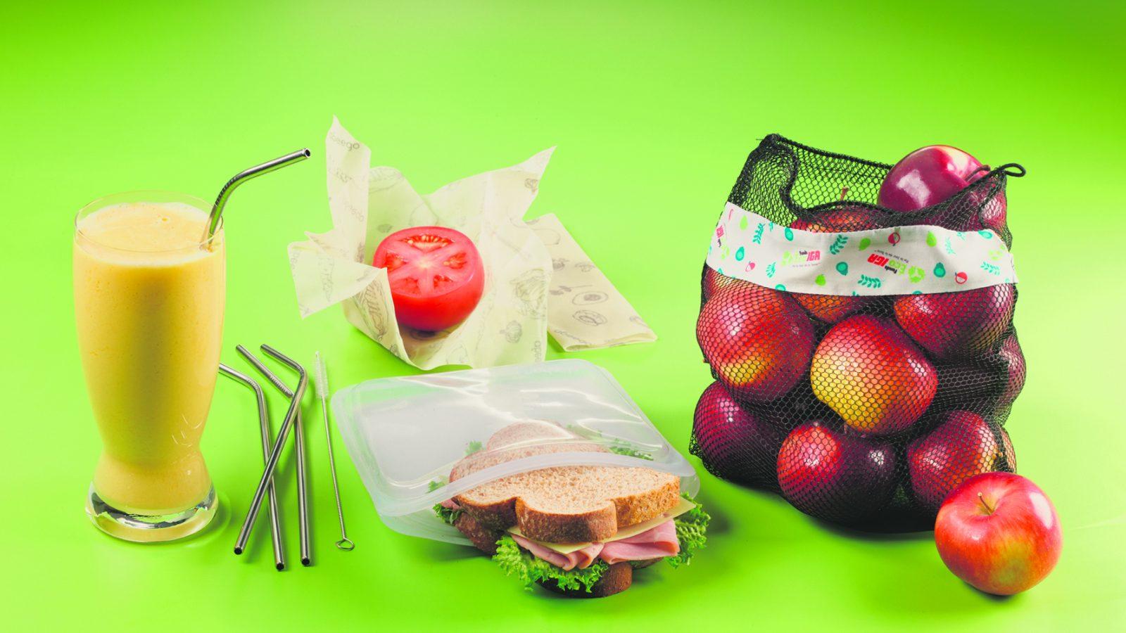 Réduction des plastiques à usage unique – Ateliers et distribution de trousses chez IGA jeudi