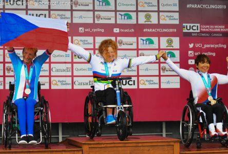 Paracyclisme: Francesca Porcellato, l'étoffe d'une grande championne