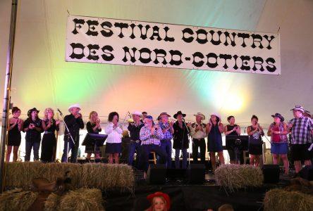Un beau succès pour le festival country des Nord-Côtiers