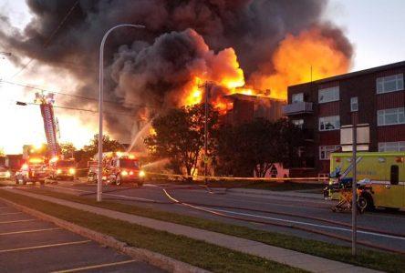 Incendie majeur : un réveil brutal au 60, rue du Père-Divet à Sept-Îles