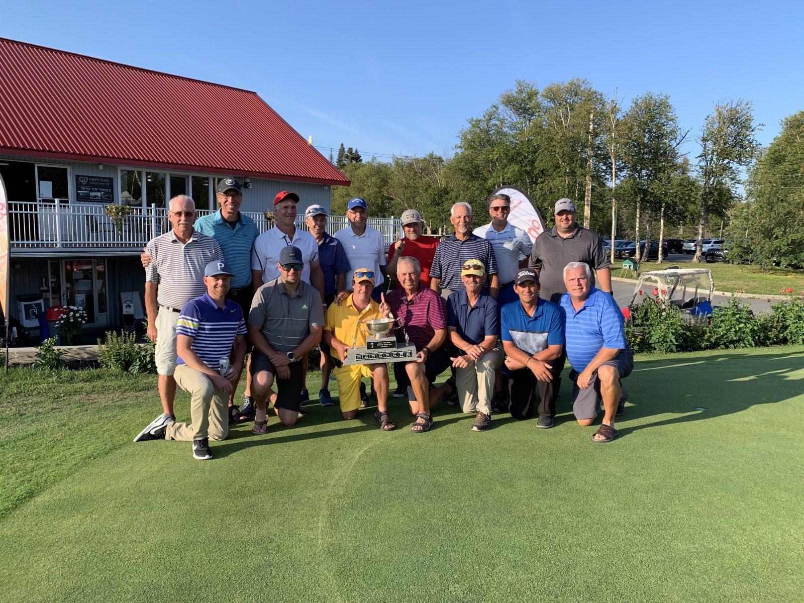 Les golfeurs de Sept-Îles renversent ceux de Baie-Comeau à la Coupe Côte-Nord