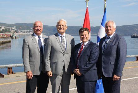 Ottawa cédera enfin le port de Baie-Comeau au milieu