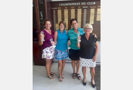 Le club de golf a désigné ses champions