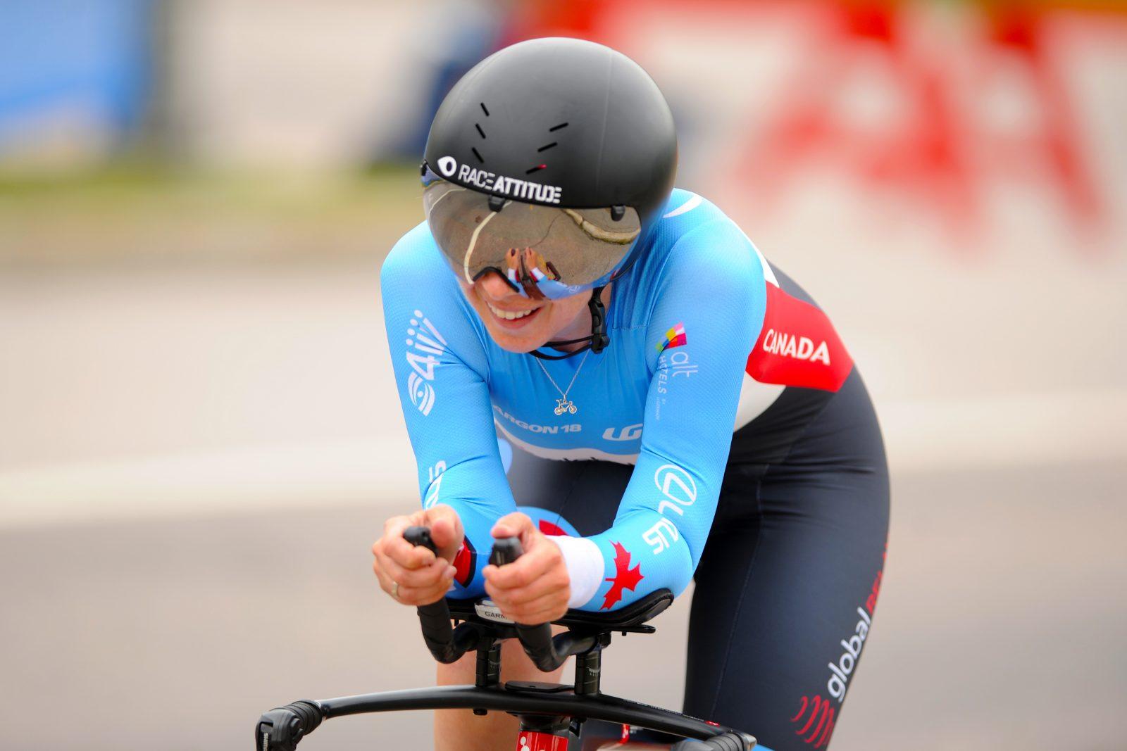 Coupe du monde de paracyclisme: Marie-Claude Molnar procure l'or au Canada