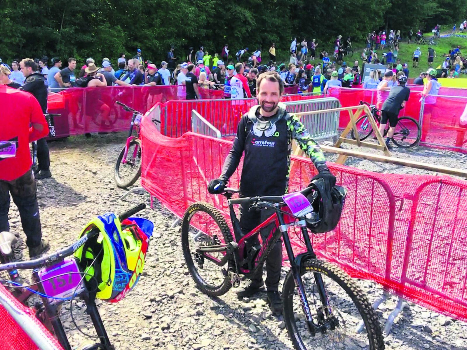 Vélo de montagne : Jimmy Coll s'éclate