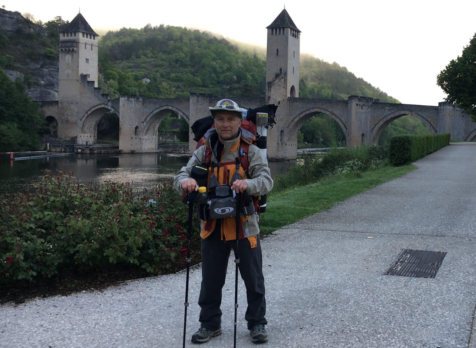 Aldéric Jean s'offre Compostelle pour lancer sa retraite