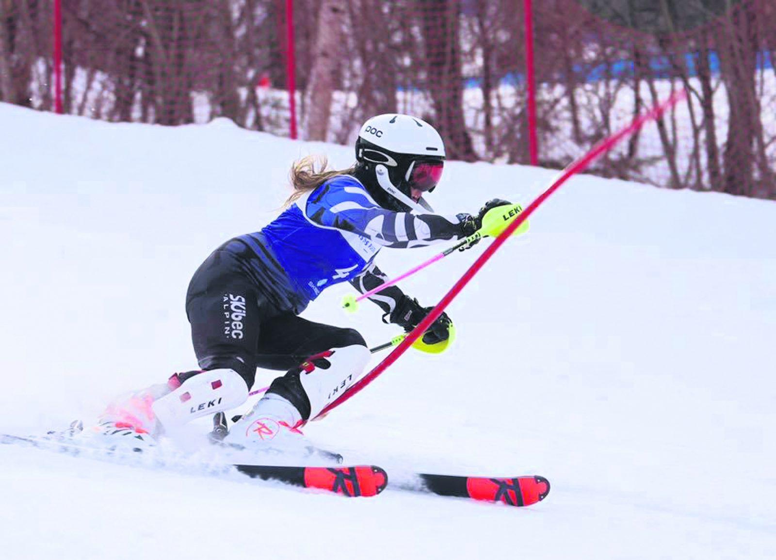 Ski alpin : Megan Heckey ne s'ennuie pas