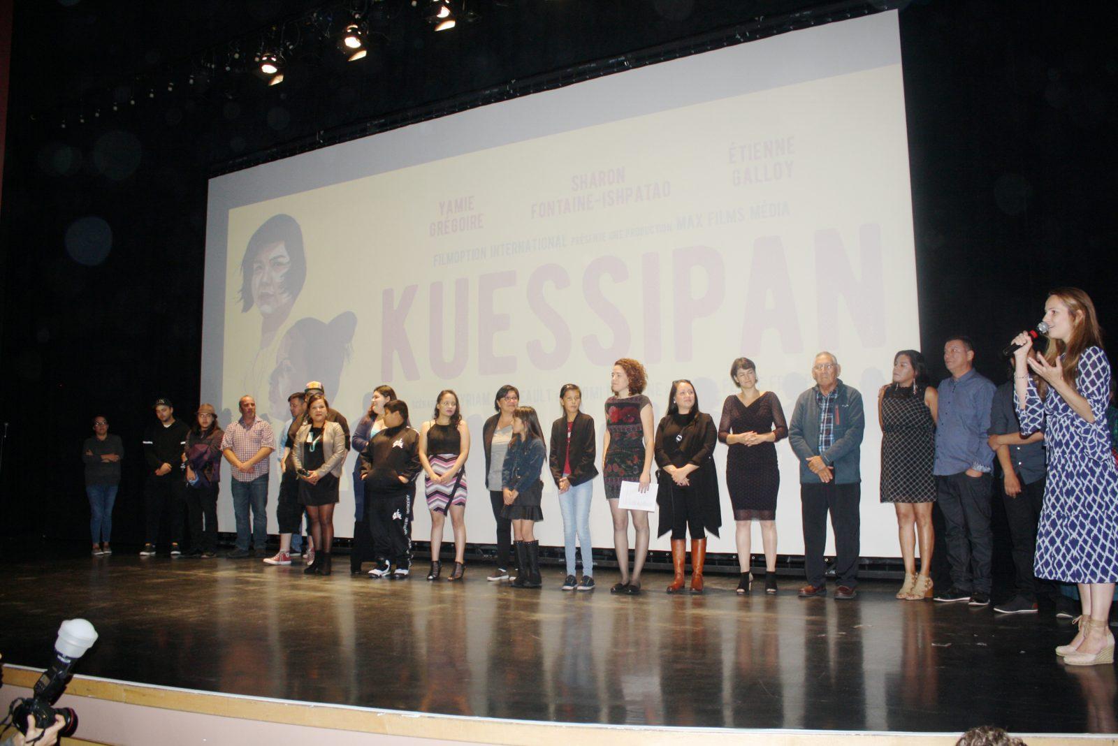 Première émouvante pour <i>Kuessipan</i> à Sept-Îles