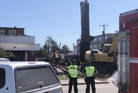Un corps retrouvé dans les décombres de l'incendie du 60, rue du Père-Divet