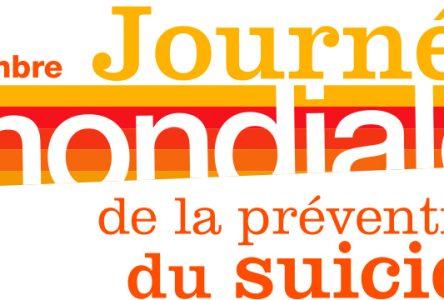 Le 10 septembre, Journée mondiale de la prévention du suicide.