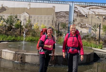 Marcher 480 km par défi et contre le cancer