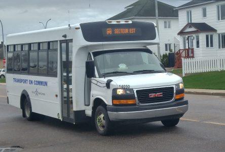 Baie-Comeau expérimentera le taxibus