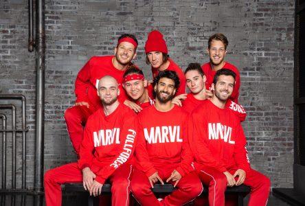 Le groupe MARVL débarque au Centre des arts