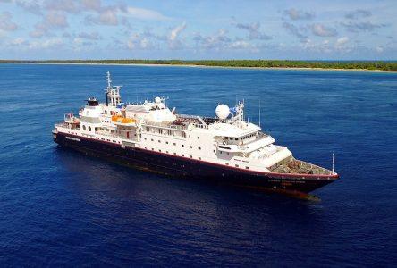 Croisières : 12 escales à Baie-Comeau pour un nouveau navire