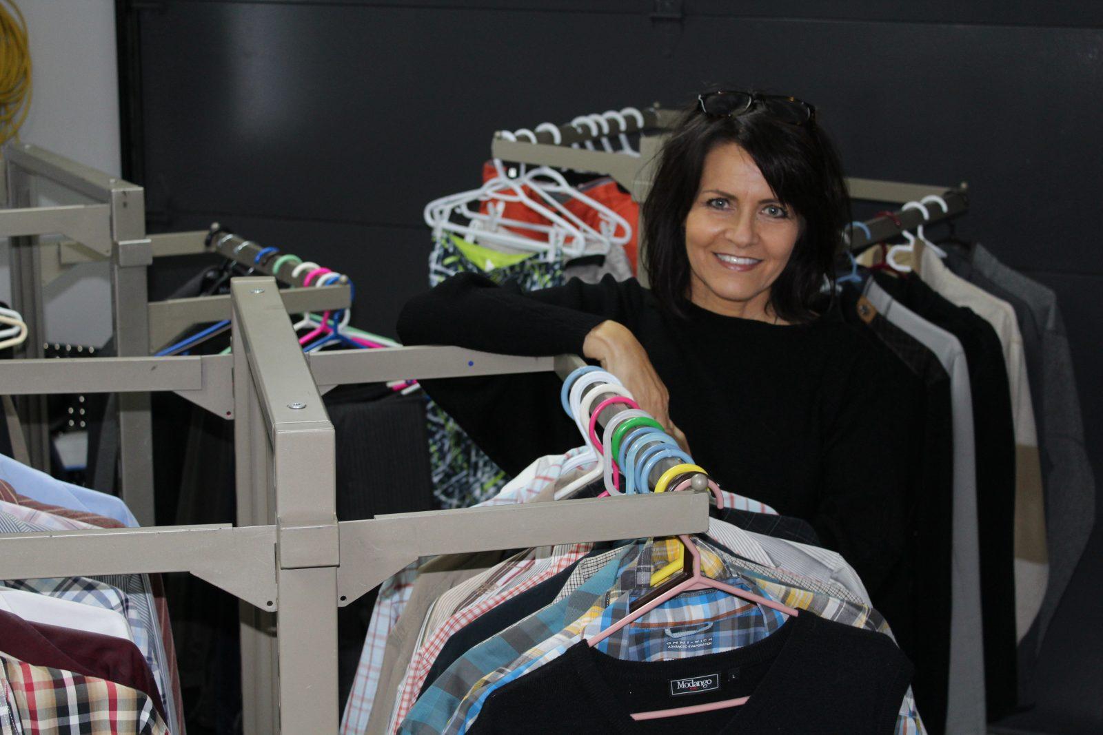 Claire Tremblay vend les vêtements de son amoureux décédé pour La Vallée