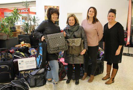 Enfants de la DPJ : une récolte de 436 bagages
