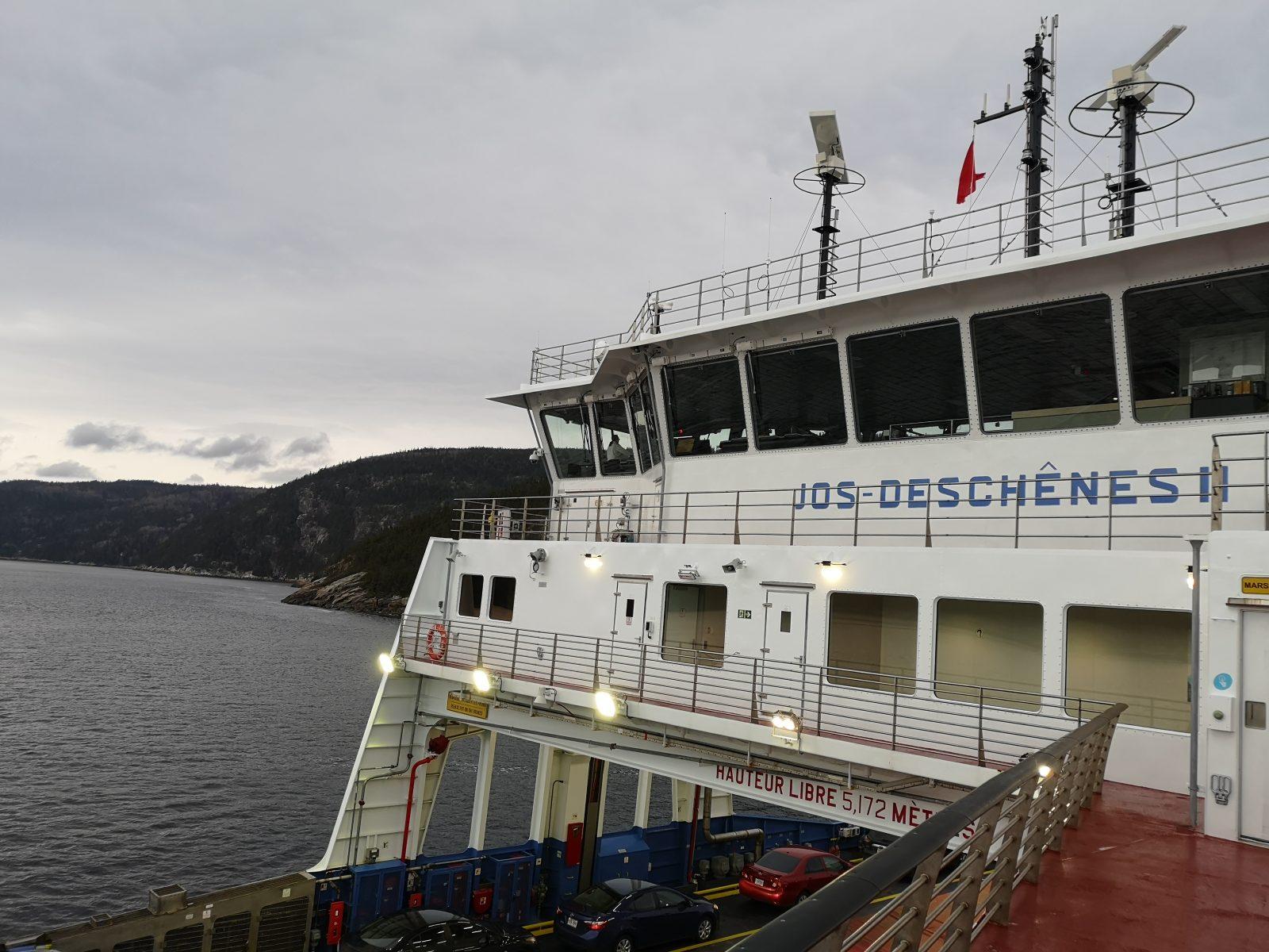 Traverse Tadoussac-Baie-Sainte-Catherine: pas de reprise assurée pour aujourd'hui