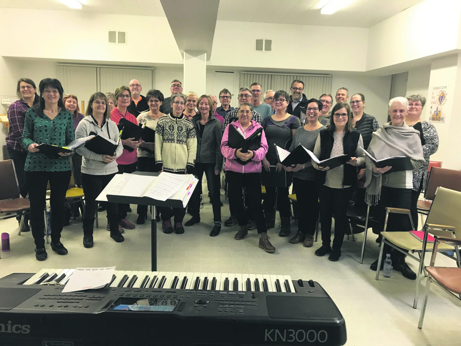 La chorale Sainte-Amélie chantera bientôt Noël