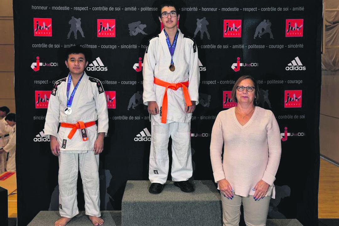 Coupe Daniel-Hardy – Neuf judokas sur le podium