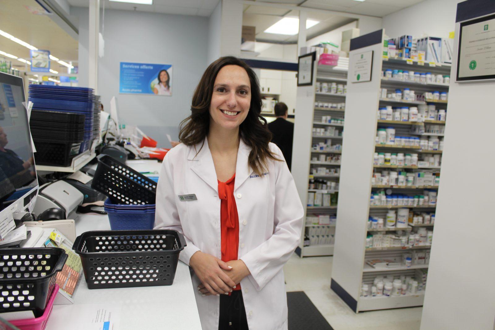 Un prestigieux prix va à la pharmacienne Jennifer Dastous
