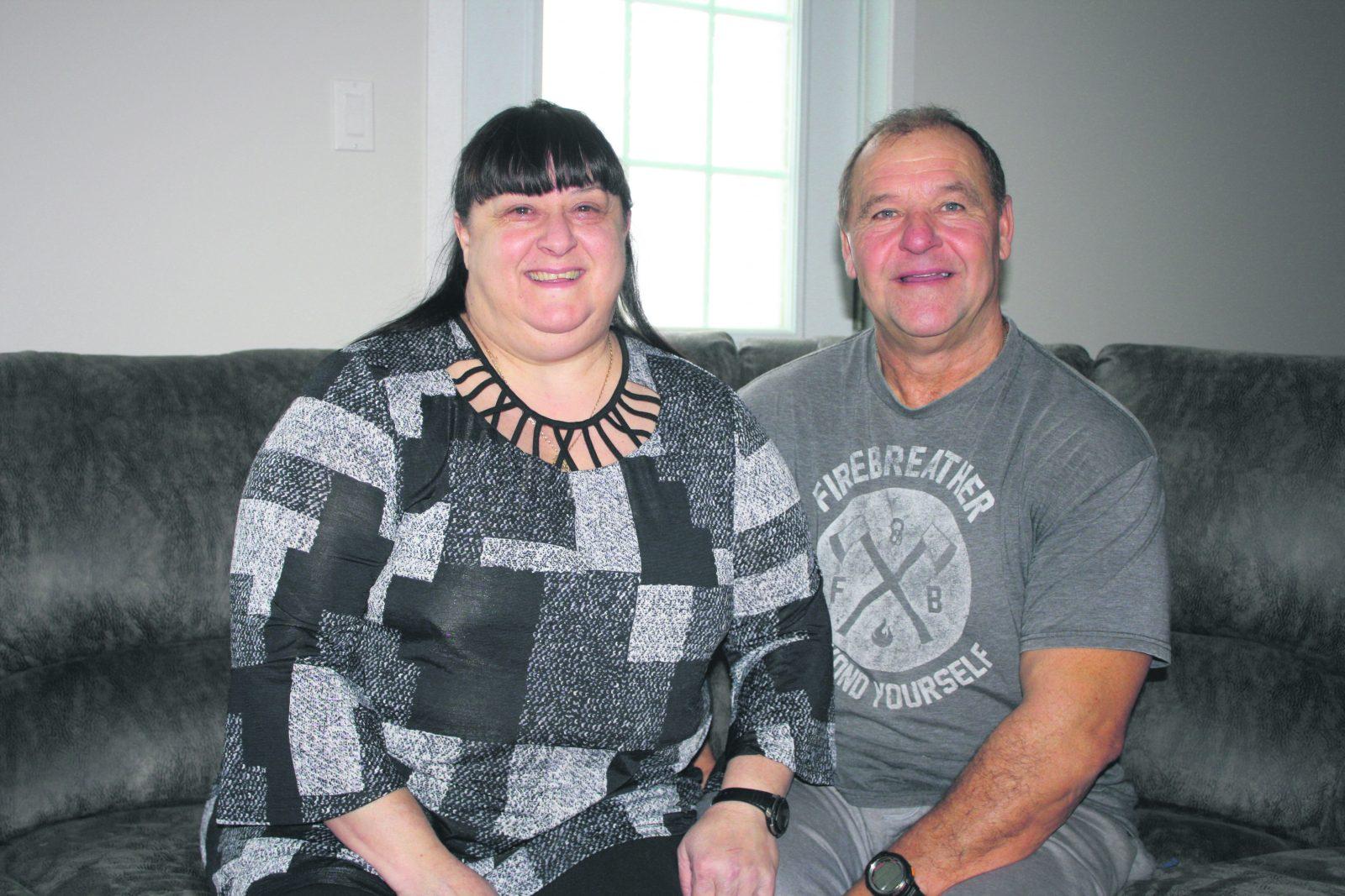 Un couple n'oubliera jamais le support de la Croix-Rouge