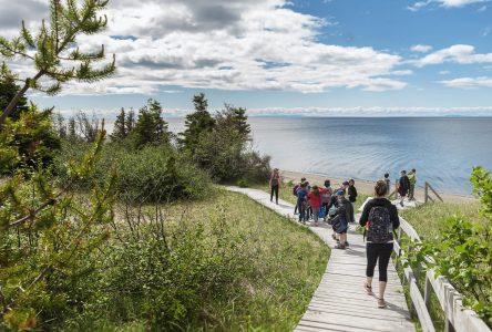 La hausse d'achalandage se poursuit au Parc Nature de Pointe-aux-Outardes