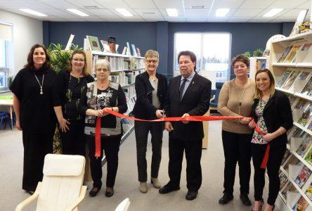 Une bibliothèque à double vocation à Pointe-aux-Outardes